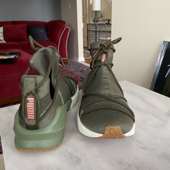 Puma Shoes | Size 7 Womens Olive And